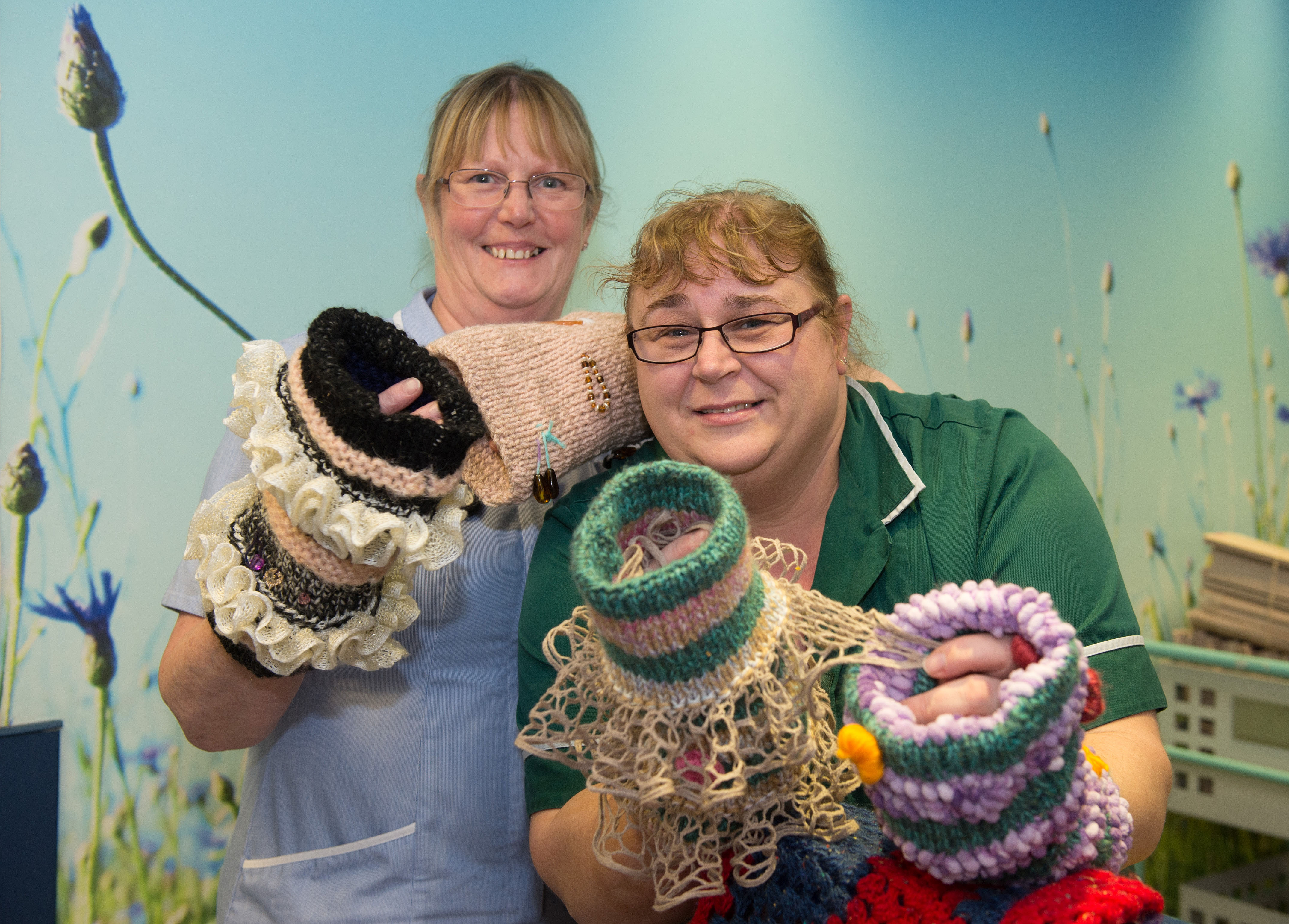 Knitted \'Twiddle Muffs\' helping patients with dementia - Harrogate ...