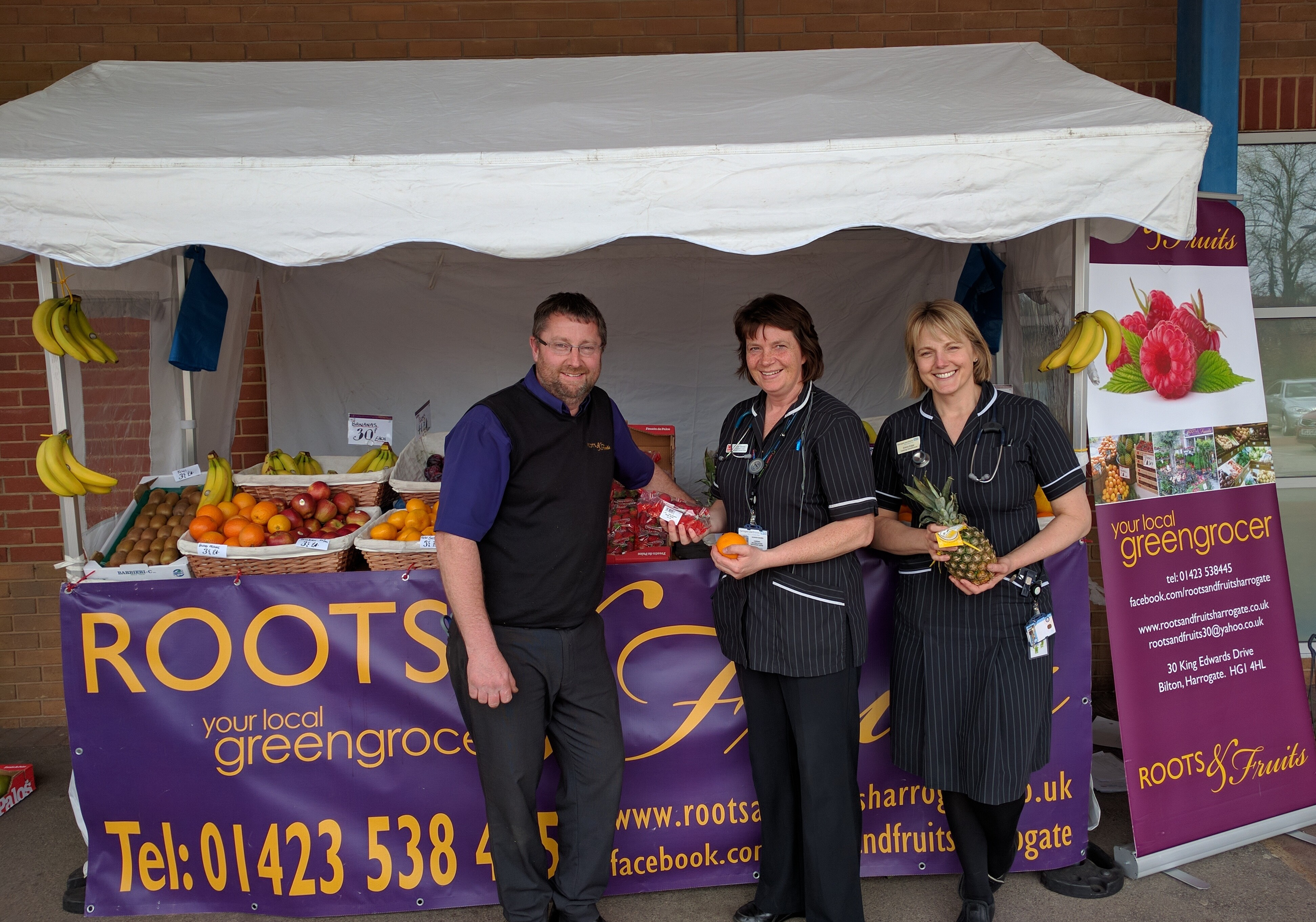 Roots and Fruits Julian, Sharon and Emma