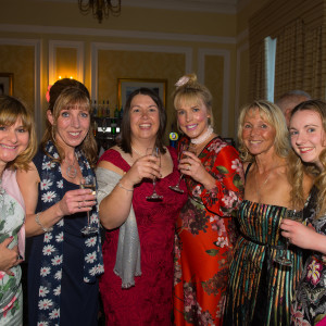 Nurses from the Sir Robert Ogden Macmillan Centre enjoying the Ball.