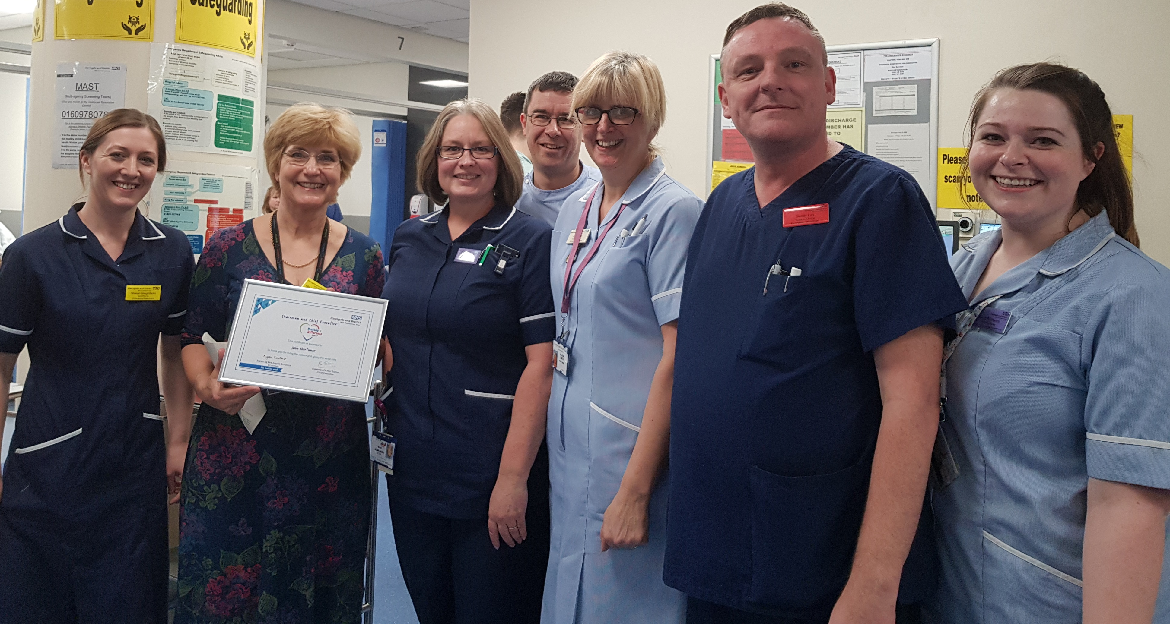 Our Making a Difference winners - Harrogate and District NHS